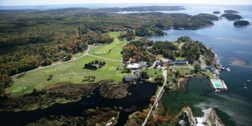 Sebasco Harbor Resort Golf Course Maine golf packages