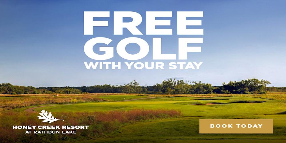 Free Golf at The Preserve on Rathbun Lake Golf Course