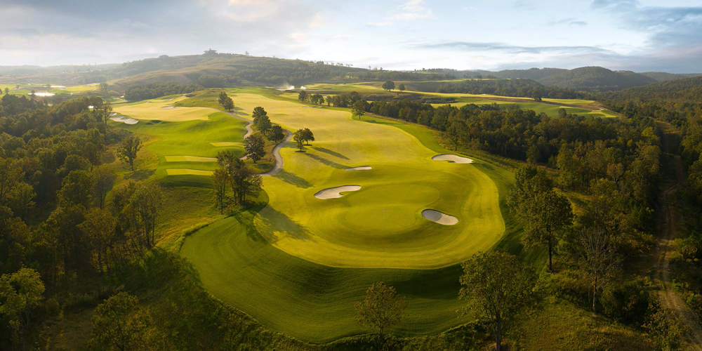 Preview Play Begins at the First Public-Access Course by Tiger Woods at Big Cedar Lodge